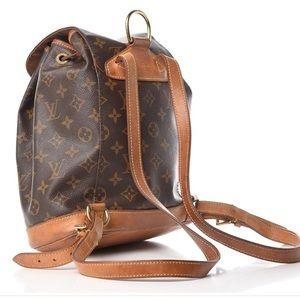 Vintage LV monogram backpack